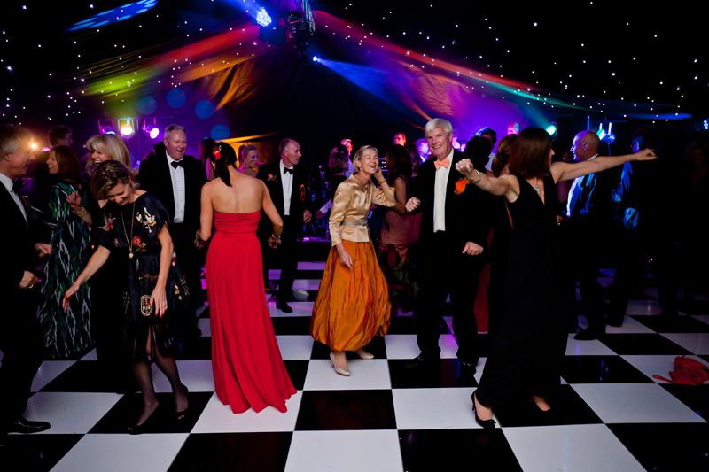 Maggies Ball Dance floor