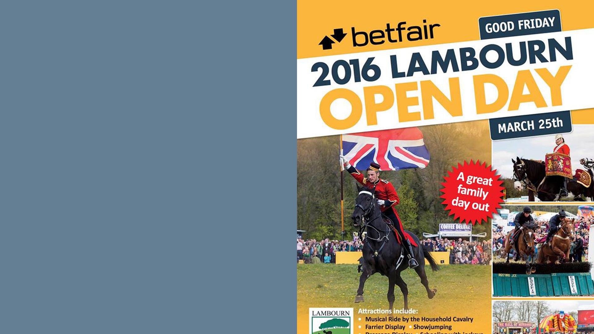 Lambourn Open Day 2016