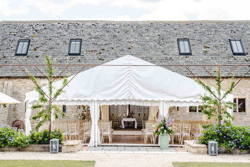 Oxleaze Barn with 9m x 6m addition