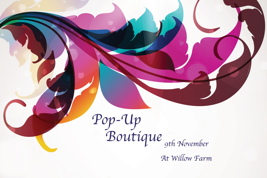 Pop-Up Boutique at Willow Farm