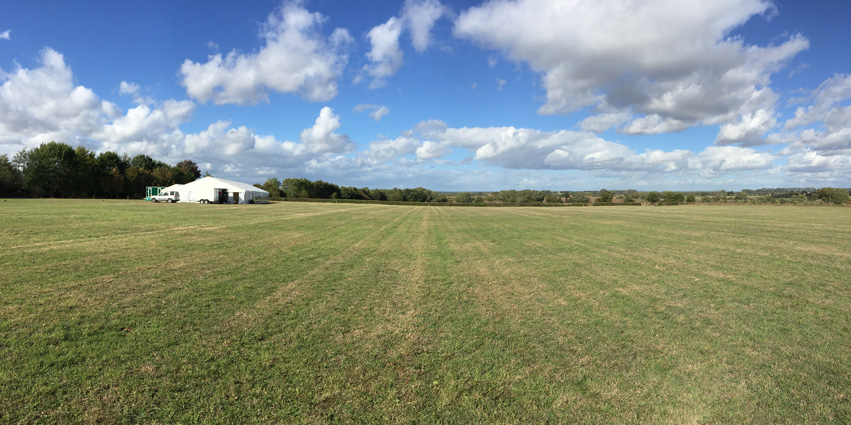 Panoramic Willow Farm Marquee Venue