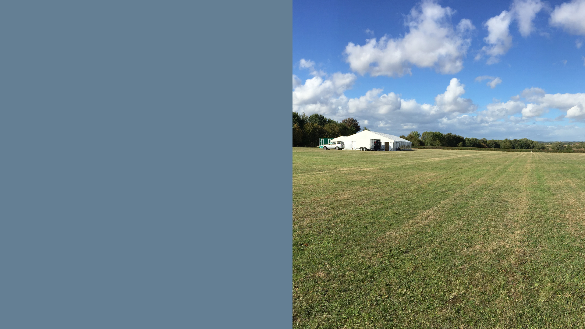 Willow Farm home of Flint & Lambourn Marquees Ltd