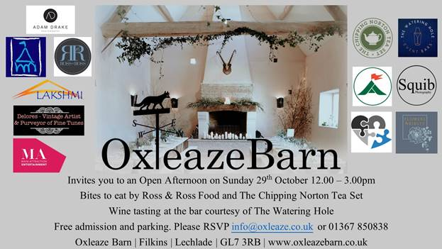 Oxleaze Barn Open Afternoon