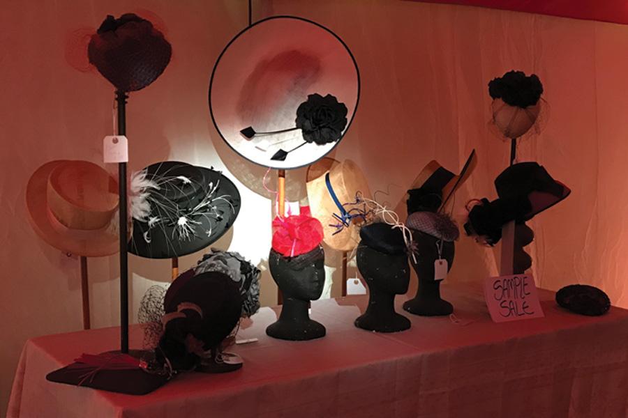 Amy Morris-Adams Hats Sample Sale