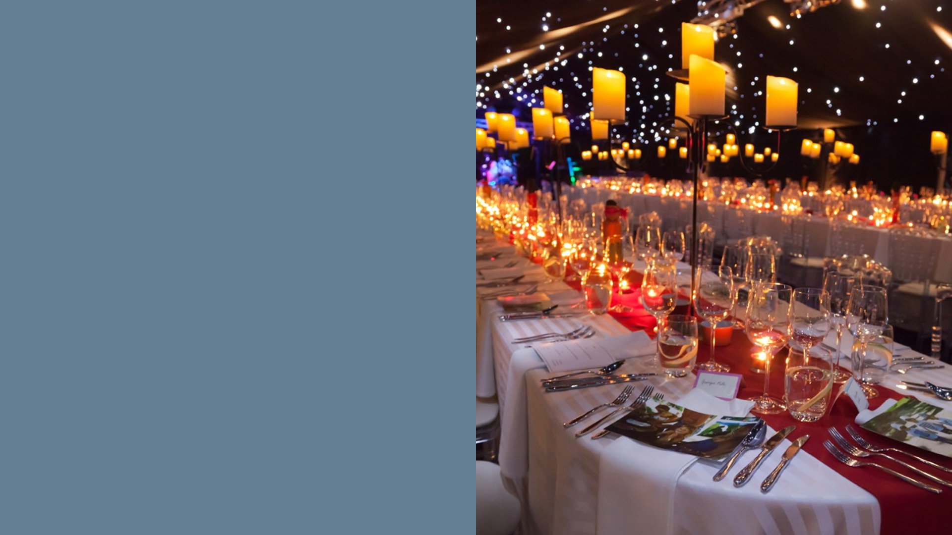 Marquees for corporate events great and small